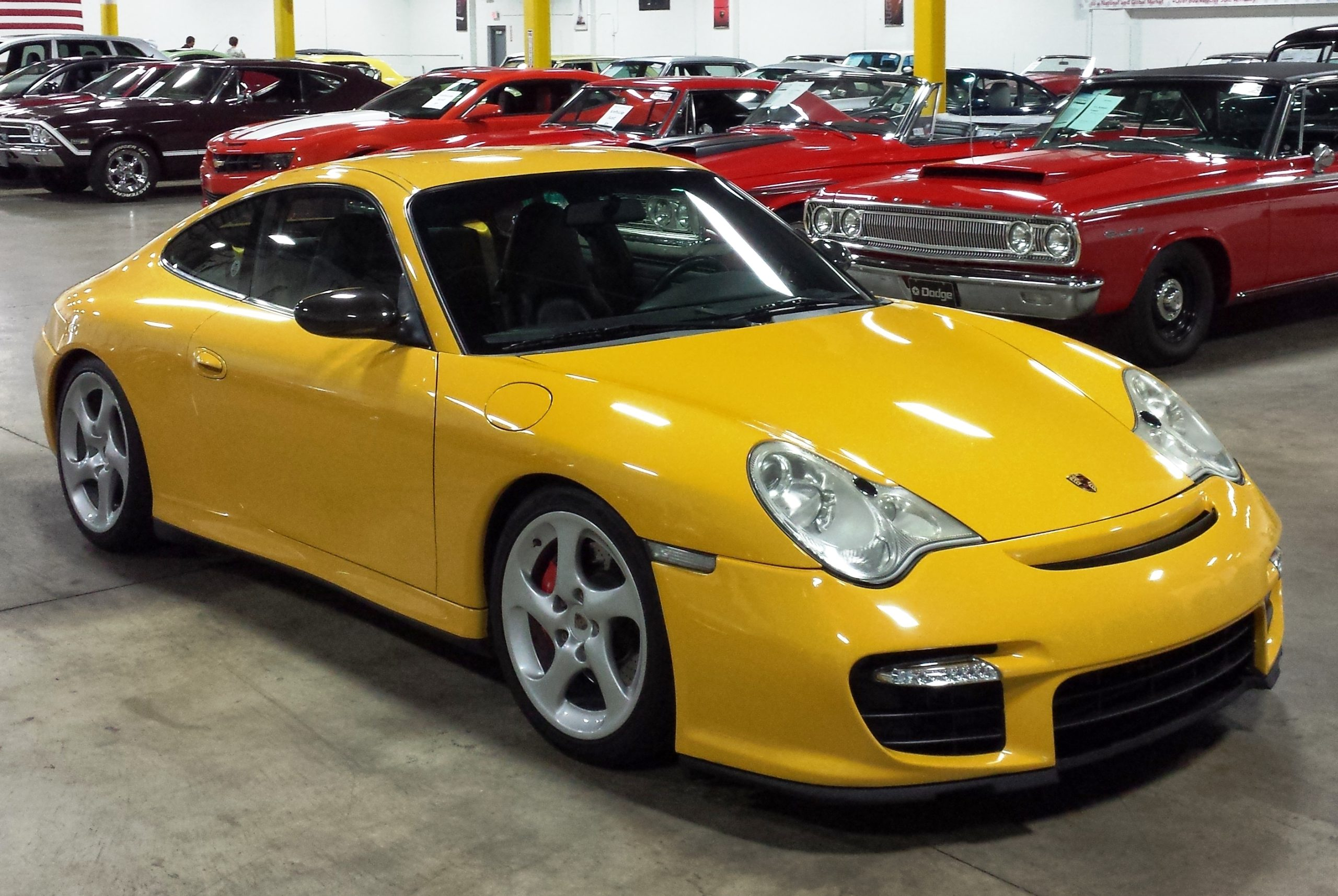Porsche 996 Turbo Yellow Www Pixshark Com Images