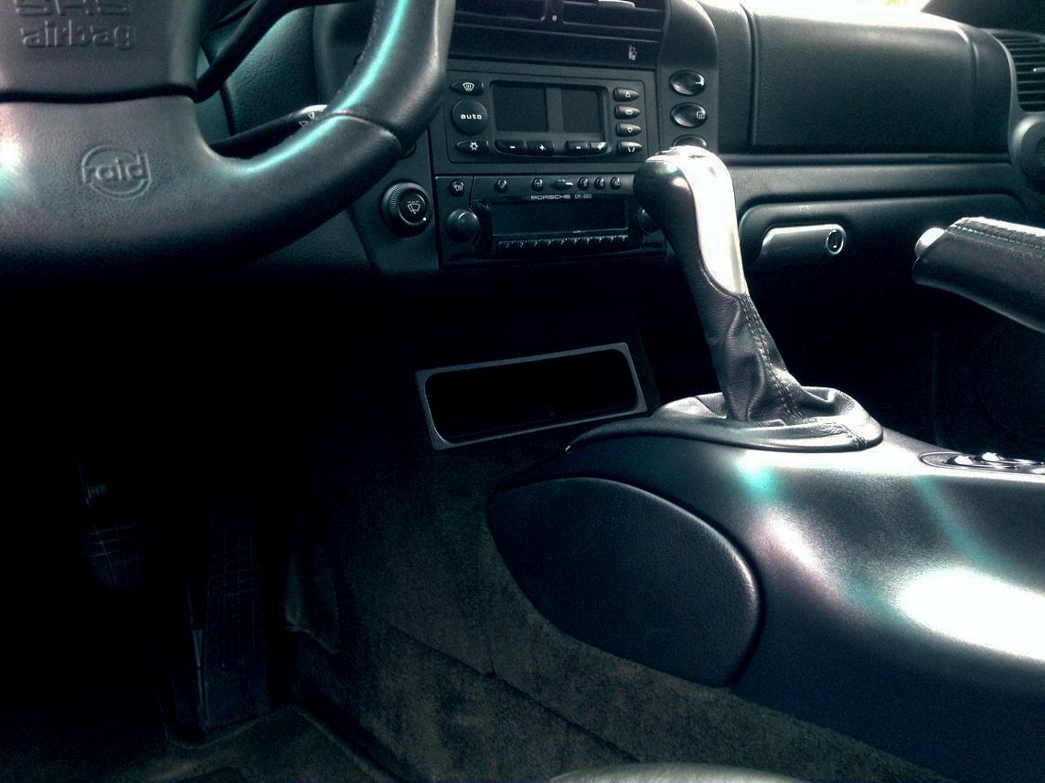 CRK Black car interior