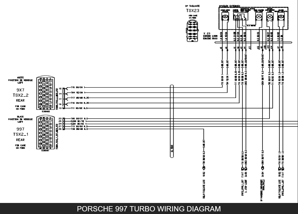 porsche 991 engine diagram porsche 997 wiring diagrams wiring diagram data  porsche 997 wiring diagrams wiring