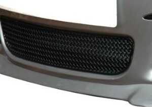 CAYMAN 987.1 - BLACK CENTER GRILL (MANUAL AND TIPTRONIC)