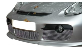 CAYMAN 987.1 - CHROME FRONT GRILLS - 3 PC. SET (MANUAL AND TIPTRONIC)